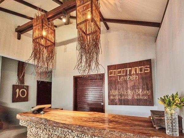 Cocotinos Lembeh Resort Front Desks | Eko Divers